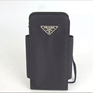 Prada iPhone case nylon black